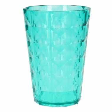 Drink beker plastic groen 350 ml